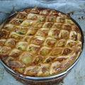 2009 05 06 Tourte ou friand aux poireaux et fromage de chèvre faite à l'école