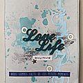 Love life [album - tournoi manou]
