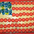 Gâteau d'anniversaire usa