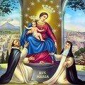 Reine du Rosaire de Pompéi