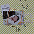 [<b>Scrapboo</b>'<b>kit</b>] [Album bébé] Love