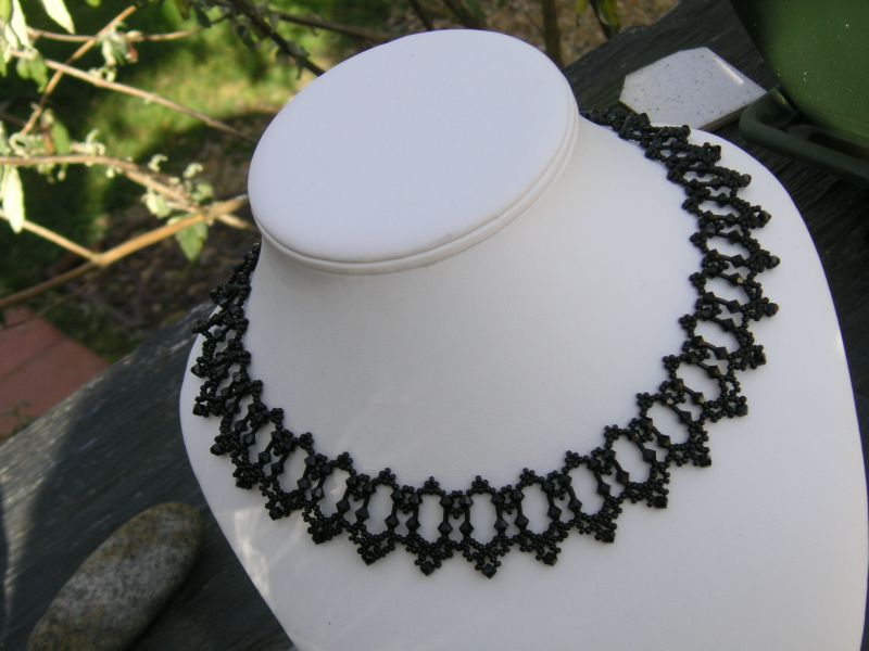 Collier Crystal Bugle