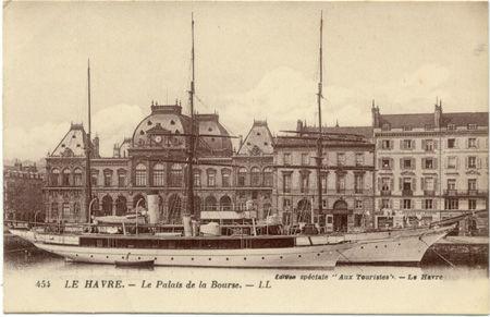 76 - LE HAVRE - Palais de la bourse