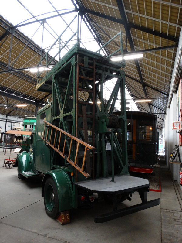 FORD voiture-échelle type 79 Tramways Unifiés de Liège et Extensions 1937 Liège (2)