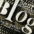 Premier Blog <b>Award</b> ~ un Merci en passant...