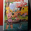 La caravane de Barbie ! Un <b>livre</b> vintage Mattel de 1981 imprimé en Italie, mais une édition française...