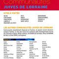 Communautés juives en lorraine (14/08/10)
