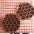 Petites <b>bouchées</b> au <b>chocolat</b>