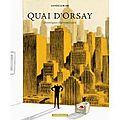 Quai d'orsay, choniques diplomatiques tome 2, par lanzac et blain