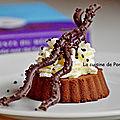Fondant au <b>chocolat</b> sans cuisson