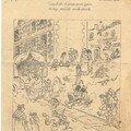 Le Rigolboche du 10 août 1916 d'où est extrait le dessin suivant