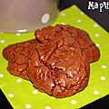 Outrageous chocolate cookies de martha stewart