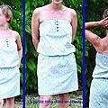 Petite robe d'été en liberty