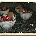 Mascarpone et fruits rouges