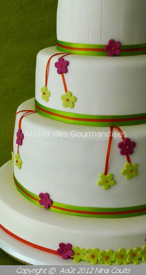 atelier des gourmandises wedding cake JULIE DETAILS