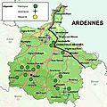Au fil de la Meuse (département des Ardennes)