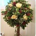 Topiaire de noël (concours flower up)