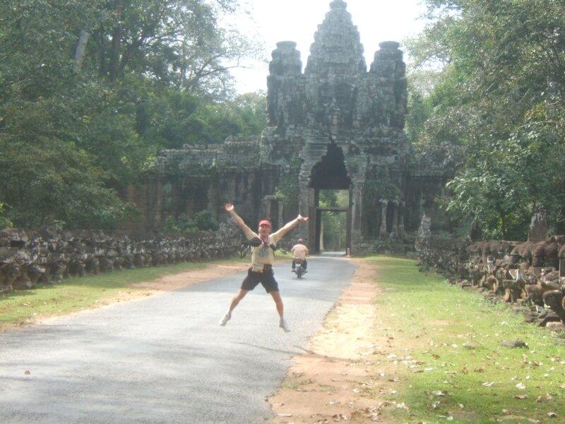 Angkor Thom. Porte est.