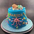 Mon <b>gâteau</b> La Petite Sirène endormie