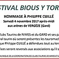 Vergeze - hommage a philippe cuille