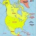 Chiens et géographie (amérique du nord)