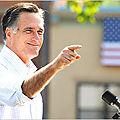 I'm for Mitt Romney