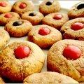 Biscuits marbrés à la pralinoise maison
