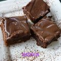 Brownies au ganache