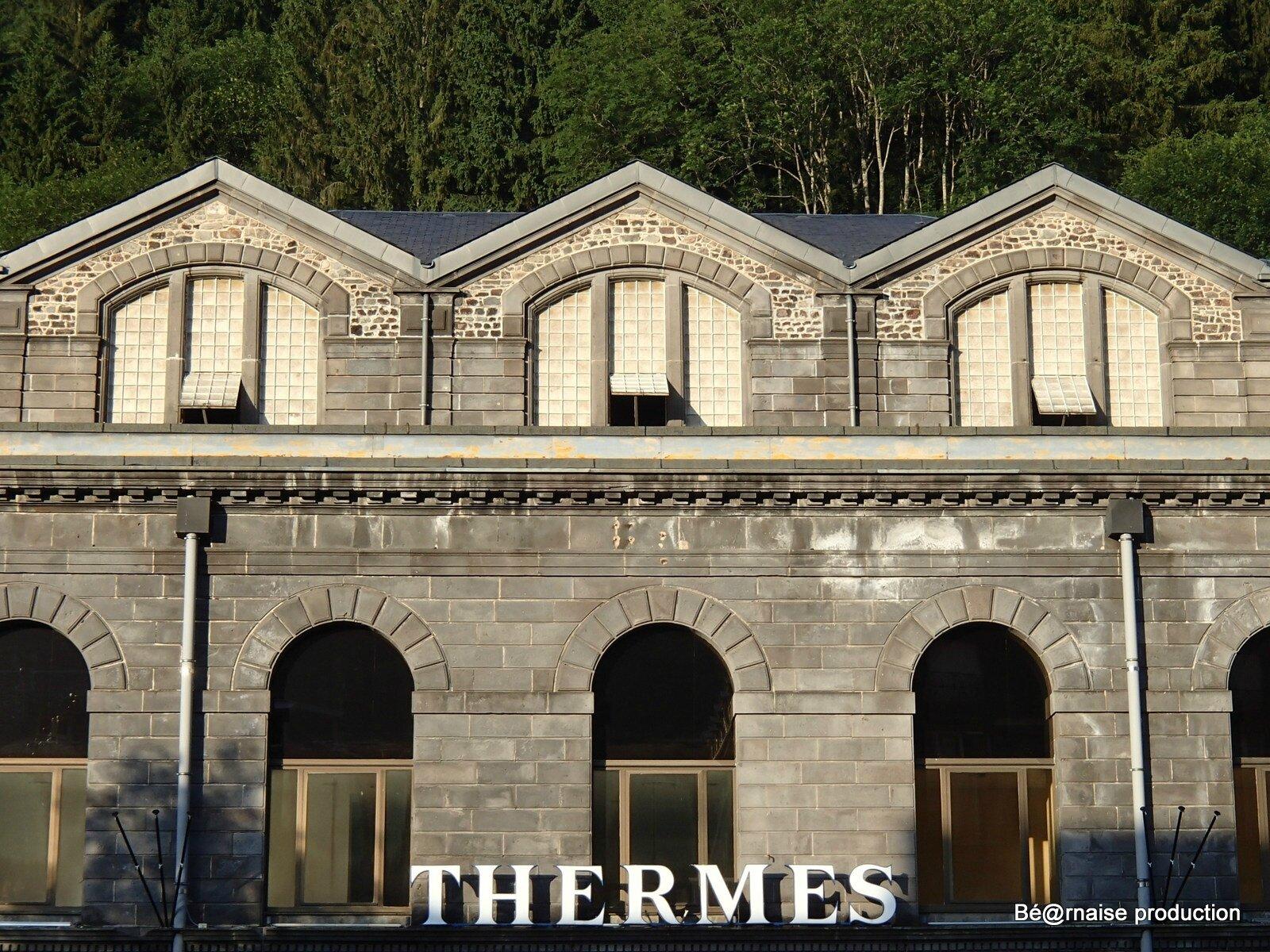 Thermalisme auvergnat (Mont-Dore, août 2013)