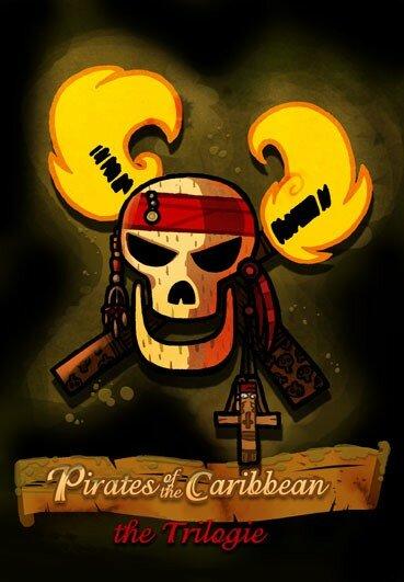titre logo Pirate des caraibes pirate of caribbean 2
