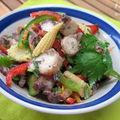 Salade de poulpe à la néo-calédonienne