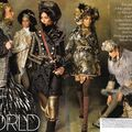 Editorial: 'We Are The World' by Steven Meisel for US Vogue, September 2010