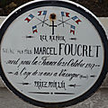 FOUCRET Marcel (Saint Médard) + 20/10/1917 Vassogne (02)