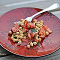 pois chiches, tomates, persil 1