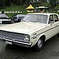 Dodge dart 270 4door sedan-1966