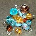 Mariage d'ambre et de turquoise