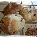 Les hot cross buns