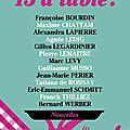 13 à table! -collectif d'auteurs français/les restos du coeur.