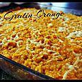 Le gratin orange :)