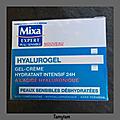 Mixa gel créme hydratant hyalurogel .. et + ..