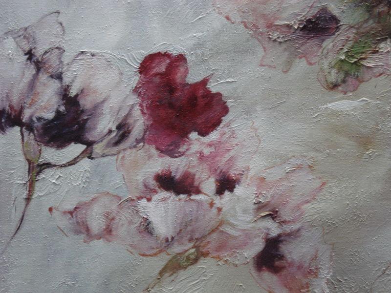 Peinture Claire BASLER, l'artiste peintre des fleurs