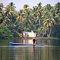 Backwaters Kollam à Alleypey