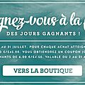 Jours gagnants stampin'up