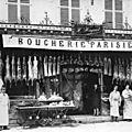 Fêtes de <b>Mi</b>-<b>carême</b> <b>1922</b> à Belfort, concours des étalages