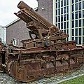 §§- mortier de 280 sur affût à chenilles st chamond