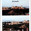Andalousie: été 2016.grenade et l'alhambra