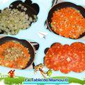 Spaghetti sauce aux légumes et au thon