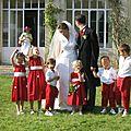 cortège mariage Arnaud et Elisabeth
