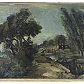 Rediscovered sketch for <b>Constable</b> masterpiece offered at Bonhams Old Master Sale