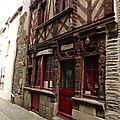 Ploermel. la vieille ville